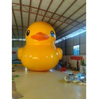 Wholesale Fireproof Yellow Duck Inflatable Model Unique For Commerical Promotion from china suppliers