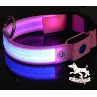 Wholesale Pink LED dog collar, LED lighting for dog collar from china suppliers