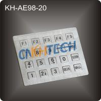 Buy cheap Industrial stainless steel keypad from wholesalers