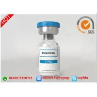 Wholesale HGH Human Growth Hormone Peptides , Lyophilized Powder Hexarelin 140703-51-1 from china suppliers
