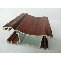 Wholesale Rectangle Wood Finish Aluminium Profiles / 6063 6063A Aluminum Door Frame Profile from china suppliers