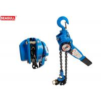 Wholesale Blue 1 / 2  Ton Manual Chain Lever Hoist / Heavy Duty Chain Come Along Lift Height 3m from china suppliers