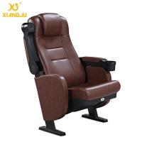 Wholesale Great Lumbar Support Comfort Head Cushion Movie Theatre Chairs With Cupholder from china suppliers