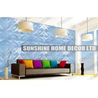 Wholesale Fire Retardant 3D Wall Panel , Home Decor Plastic 3D Decorative Ceiling Panel from china suppliers