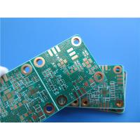 Buy cheap Immersion Gold RF PCB Built on RO4350B 30mil With 2 Layer Copper from wholesalers