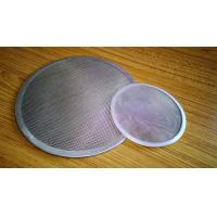 Wholesale SS316 Filter Element Filter Disc Wire Mesh Screen With Material Edge from china suppliers