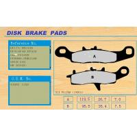 China Waterproof, non-noise and no dust residue Motorcycle Disc Brakes Pad SLX PULSAR(INDIA) on sale
