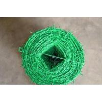 Wholesale Plastic coated barbed wire,weaving barbed wire,iron plastic barbed wire,aluminum plastic barbed wire,stainless steel from china suppliers