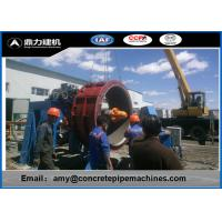 Wholesale PLC Control Rcc Pipe Making Machine , Concrete Pipe Making Machinery from china suppliers