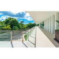 Wholesale Outdoor Low-Iron 15mm Balustrade Glass Canopies For Houses from china suppliers