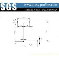 Wholesale Solid Brass Single L Sections and Straight Copper L Corner Sheet from china suppliers