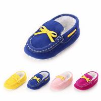 Wholesale Wholesale fashion Faux suede Moccasins 0-2 years boy and girl prewalker baby boots from china suppliers