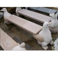 Wholesale Penguin  Carving Stone Bench, Exquisite Granite Stone Sculpture from china suppliers