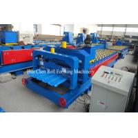 Wholesale 45# Steel Roof Glazed Tile Roll Forming Machine With Chrome Plated from china suppliers