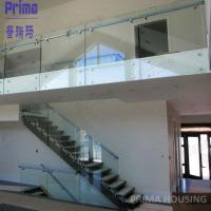 Quality composite decking balustrade / staircase balustrade /glass veranda for sale