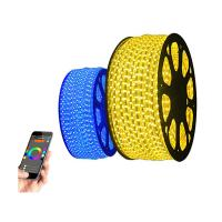 Wholesale Flexible 16 Colors Wirless 12 Volt Led Rope Lights Control By IOS / ANDROID Bluetooth from china suppliers