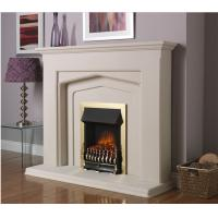 Wholesale natural stone white marble fireplace from china suppliers