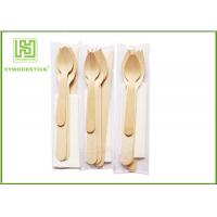 Wholesale Colorful Eco Friendly Cutlery Compostable Tableware Wooden Forks And Spoons For Party from china suppliers