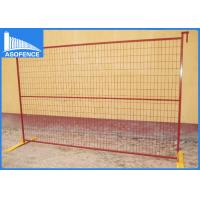 Wholesale Free Standing Removable Temporary Fencing Panels Safety For Construction Sites from china suppliers