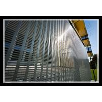 Wholesale exterior decorative slotted hole perforated metal panel from china suppliers