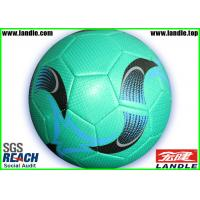 Wholesale Laser Synthetic Leather Soccer Ball With Customized Logo Printing / All colorful Designs from china suppliers