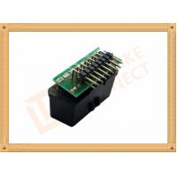 Wholesale 90 Angle PCB Soldered OBD Diagnostic Connector 16 Pin Obd2 Female Connector SOF007 from china suppliers