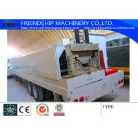 China 45# Steel K Span Arch Roll Forming Machine With 13 Steps Of Rollers on sale