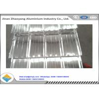 Wholesale No Pollution Fireproof Corrugated Aluminum Sheet Excellent UV Resistance from china suppliers