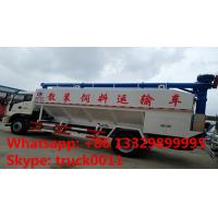 Quality 2018s new cheapest FOTON poultry feed truck for sale, factory sale best price FOTON 8-12tons farm-oriented feed truck for sale