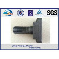 Wholesale 73181 59001 Speical T head Track Bolt / Fish Bolt Oxide 45#  8.8 Grade from china suppliers