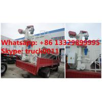 Wholesale factory selling 12m3 animal feed tank mounted on cargo truck, HOT SALE! 5-6tons bulk poultry feed tank mounted on truck from china suppliers