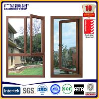 Wholesale swing out aluminum window casement windows from china suppliers