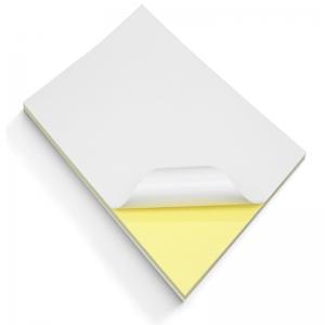 China A4 White Matte Glossy Self Adhesive Sticker Paper on sale