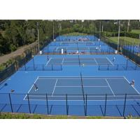 Wholesale Muti - Purpose Durable Sport Court Surface , Sound Absorption Tennis Court Flooring from china suppliers