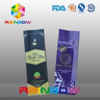 Wholesale Full Printing Black Gusset Coffee Bag / Back - Side Sealed Pouch With Valve from china suppliers
