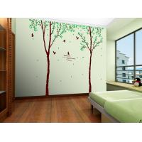 Wholesale Self Adhesive PVC Removable Wall Stickers Tree Photo For School from china suppliers