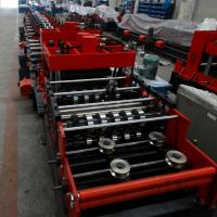 Wholesale 15KW Z & C Purlin Roll Forming Machine With Hydraulic / Manual Decoiler and Siemens PLC Automatic Control Whole Line from china suppliers