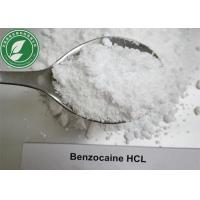 Wholesale Local Anesthetic Powder Benzocaine Hydrochloride For Pain Killer CAS 23239-88-5 from china suppliers