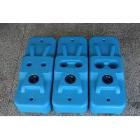 Quality Injection/Plastic Molded Plastic Fence Base Temproary Fence Block for sale