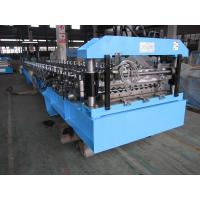 Wholesale 45# Forge Steel Corrugated Roof Roll Forming Machine with Product Run Out Table / Auto-Stack from china suppliers