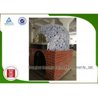 Wholesale Napoli Gas Italy Pizza Oven Ceramic Tiles Lava Rock Baseplate , Commercial Pizza Oven from china suppliers