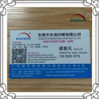 Wholesale Hot Stamping PET / PP 3D Business Card Design Changeable Image from china suppliers