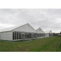 Wholesale Modern Design Clearspan Structure Outdoor Event Glass Wall Tents For Party Reception from china suppliers