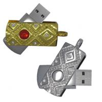 Wholesale custom jewelry diamond USB 2.0 flash drive 128MB/512MB/1GB /2GB /4GB /8GB/ 16GB  from china suppliers