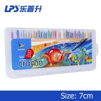 Wholesale 36 Colors PP Box Twistable Crayons Set Short Oil Wax 70mm EN71 PART3 Approve from china suppliers