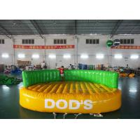 Buy cheap Crazy UFO Boat Water Games Commerial Best 0.9mm PVC Inflatable Water Toy from wholesalers