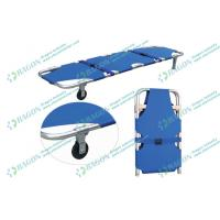 Wholesale ISO CE Approved Multifunctional Evacuation Ambulance Stretcher foldable with Wheels from china suppliers