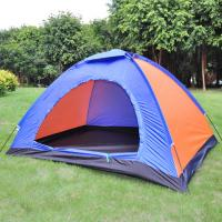 Wholesale Double Layer 3-4 people Family Outdoor camping ultralight inflatable Camping Tent from china suppliers