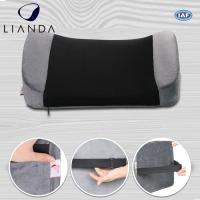 Quality Posture Corrector Alleviates Pain Back Support PU Waist Lumbar Support Cushion For Office Chair for sale