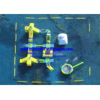 Wholesale Heavy Duty Floating Inflatable Water Parks 0.9mm PVC Tarpaulin SGS Certification from china suppliers